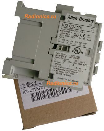 Контактор ALLEN BRADLEY 100-C23KF01