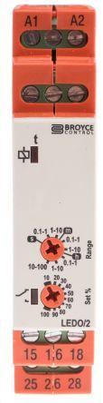 Реле BROYCE CONTROL LEDO/2 12-230V AC/DC